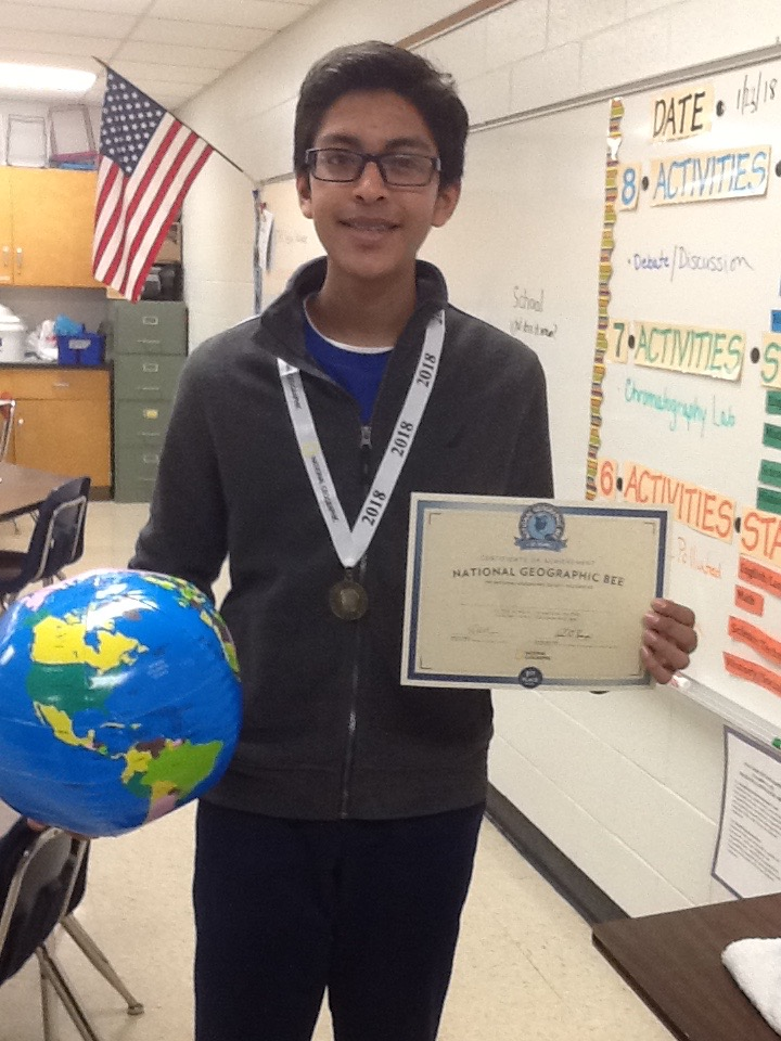 State Geography Bee Winner!